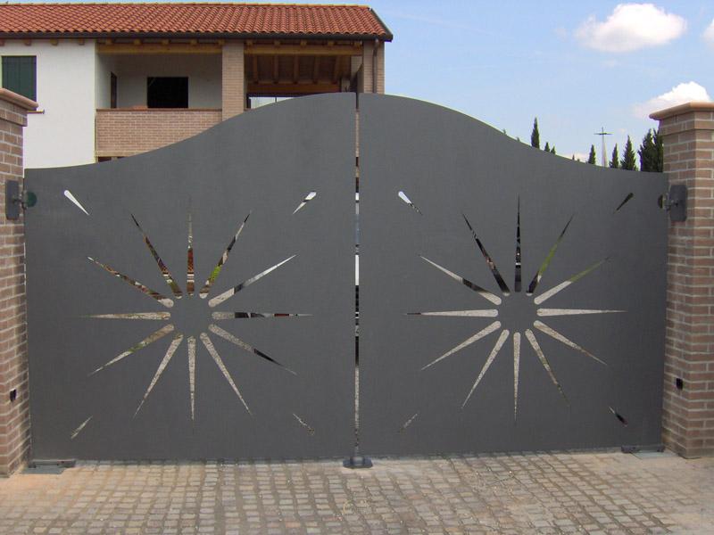 Super Realizzazione Cancelli in Ferro Battuto | Carpenteria Favaretto XU68