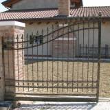 Cancello zincato verniciato e sfumato