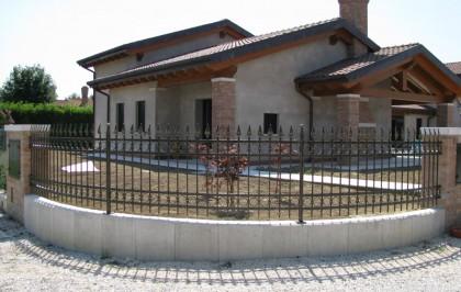 Ringhiera su casa privata Venezia