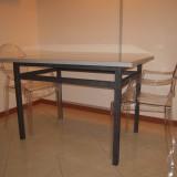 Tavolo in ferro verniciato