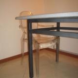 Tavolo verniciato nero